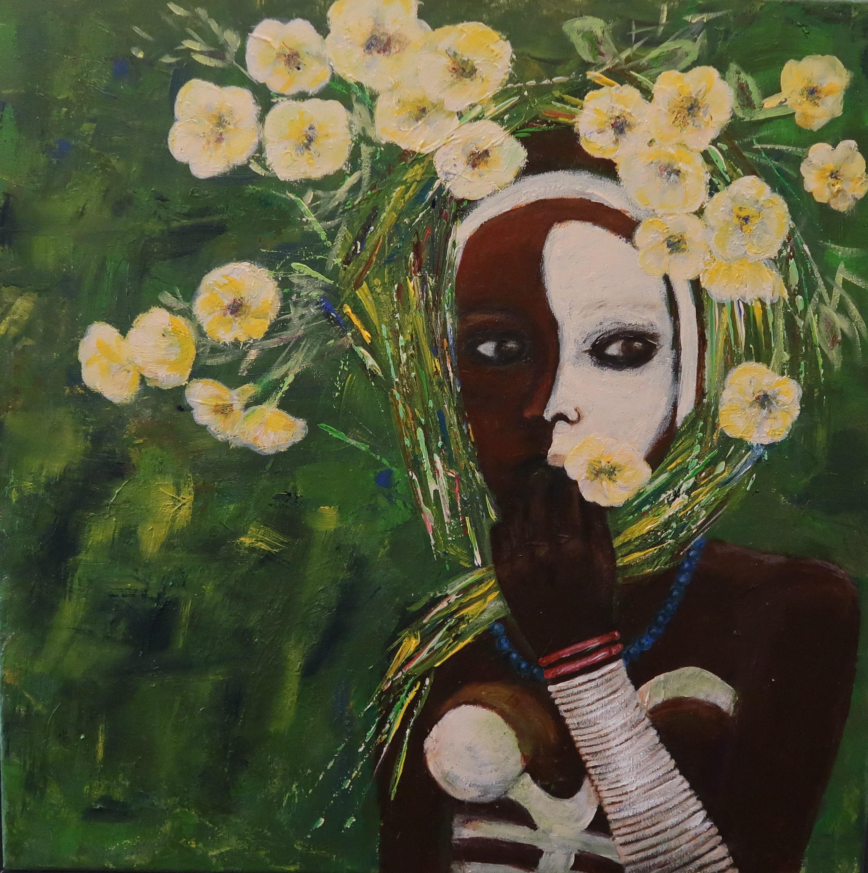 Ethiopean girl (50x50)